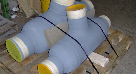 Sphere Flow And Barred Tees Inpipe Products