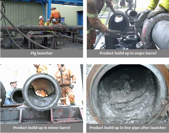slurry pipeline pigging